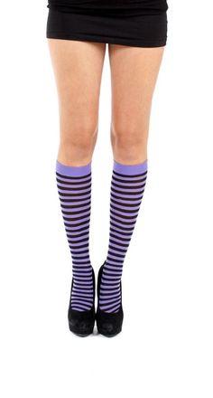 PamelaMannCarousel-polvisukat, violetti, 5,95€