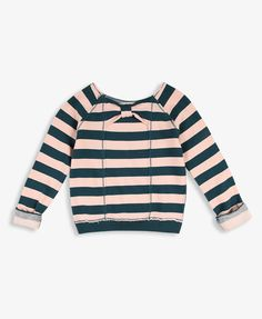 Striped French Terry Pullover | FOREVER21 girls - 2000024416