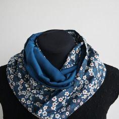 Snood foulard tour de cou liberty