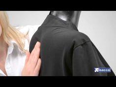 Abbigliamento professionale - Casacca Kobe versione italiano - Casacca unisex - YouTube