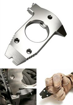 TAD Gear : B.R.A.T.T. titanium pocket tool. A versatile and handy titanium pocket tool. Small and light. it's easy to carry around with you. It's a flathead screwdriver, mini prybar with nail puller, bottle cap opener, and spanner. And in an emergency you can also use it as an impact weapon.