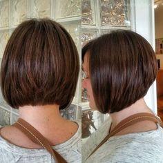 22 Graduated Bob Haircuts for Short/Medium Hair + $30 Paypal Free Giveaway - 8 #ShortHairstyles