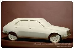 OG | 1976 Renault 14 - Project 121 | Scale clay model