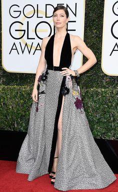 2017 Golden Globes - Jessica Biel - Best & Worst Dressed