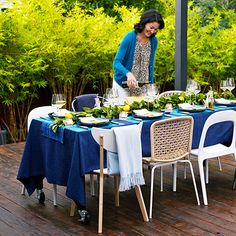 Feast outdoors - Outdoor Party Planning - Sunset