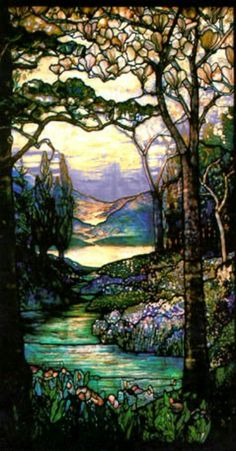 Tiffany window