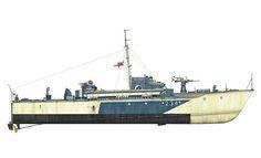 Vosper Motor Torpedo Boat, Royal Navy, 1942. Pin by Paolo Marzioli