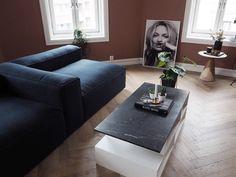 Blue Wool Sofa - LENE ORVIK Blue Wool, Scandinavian Interior, Lounge, Sofa, Living Room, Interior Design, Bedroom, Table, Furniture