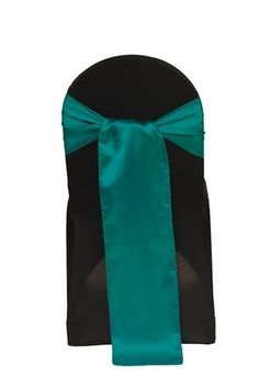 Buy teal satin chair sashes for weddings at cheap wholesale prices! Perfect satin sashes for your wedding chair covers. Teal Table, Teal Chair, Table Overlays, Chair Sashes, Satin Sash, Satin Material, Wedding Chairs, Chair Covers, Table Linens