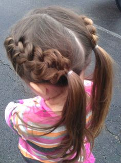 heart braids    hairstyle from:  http://www.babesinhairland.com/2012/02/heart-braids-valentines-day-hairstyle.html