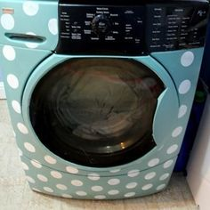 How to paint a washing machine