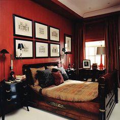 Schlafzimmer Einrichten: Ideen Zum Gestalten Und Wohlfühlen | Pinterest |  Romantisch, Rot Und Schlafzimmer