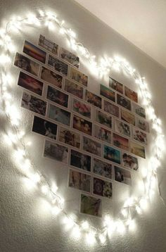 House decoration - 20 ideas that will inspire you to put pictures on your wall . - Bilder an Wand Ideen - Pictures on Wall ideas Room Ideas Bedroom, Bedroom Decor, Design Bedroom, Bedroom Wall, Bed Design, Bed Room, Bedroom Furniture, Photowall Ideas, Decoration Photo