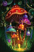 Alice In Wonderland Art - Enchanted Evening by Philip Straub