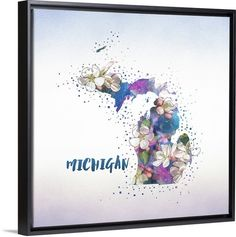Show off your home state love with one of our canvases from our Inner Circle State Flower collection.  Check out more at GreatBIGCanvas.com