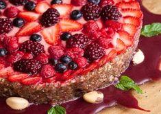Mandala de Frutas Vermelhas (vegana)