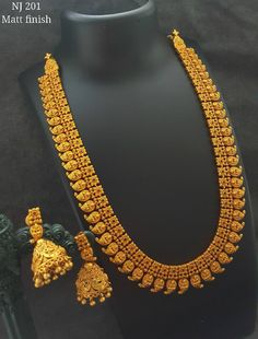Beautiful long haram with mango design. 23 November 2017 Beautiful long haram with mango design. Gold Temple Jewellery, Gold Wedding Jewelry, Bridal Jewelry, Mango Mala Jewellery, Kerala Jewellery, Silver Jewelry, India Jewelry, Jewlery, Gold Chain Design