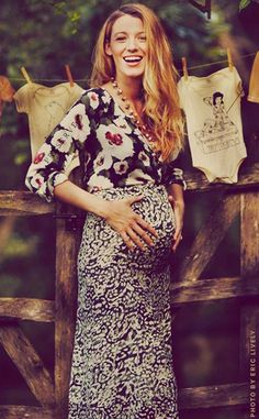 Blake Lively is one adorable mom-to-be!