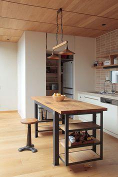 Kazu721010 House In Tokyo Kodikodi Kitchen Remodel Mobile Island