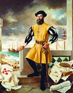 Today in History Marks the Landing of Explorer Ferdinand Magellan - His Discovery and His Life Met a Bitter End Just Over a Month After Finding the Philippines Conquistador, Fernand De Magellan, Battle Of Mactan, Holidays Around The World, Today In History, Ferdinand, World History, Greek History, Modern History