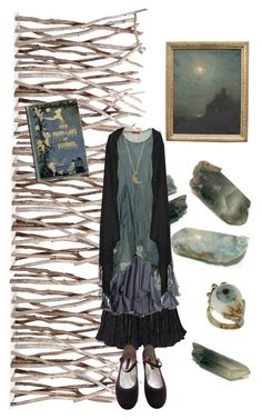 Driftwood Fairy by zitahawthorne on Polyvore featuring Calypso St. Barth, Valentino, Marc Jacobs, DailyLook, HARRISON, stregafashion and strega