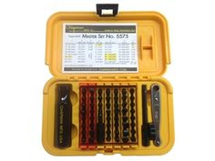 219768 The Chapman Model 5575 53-Piece Master Screwdriver set includes Slotted, Phillips, Metric, and SAE hex bits. With so many different types of...