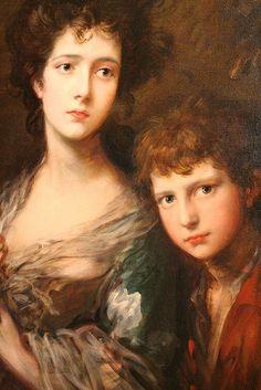Thomas Gainsborough - Elizabeth and Thomas Linley -Beautiful