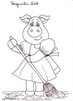 Free Printable Pig ready for city tour coloring pages and