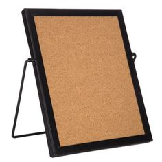 Standing Corkboard with Black Frame
