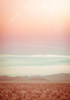 Color Study: Desert Sky