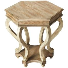 Butler Specialty Masterpiece Margaret Driftwood Accent Table