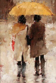 美国画家—安德烈科恩Andre Kohn - 水^木^白 - 水^木^白艺术收藏