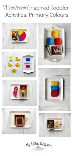 Montessori Inspired Toddler Activities: Primary Colours When Mia was really little I would just point out different colours in books and all around us. But about month ago I decided to start using the Montessori Colour Tablets to provide Montessori Baby, Montessori Color, Montessori Playroom, Montessori Materials, Montessori Toddler Bedroom, Art Therapy Activities, Toddler Learning Activities, Montessori Activities, Color Activities