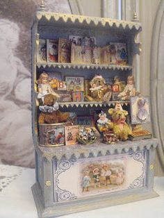 De nouveaux petits présentoirs de jouets