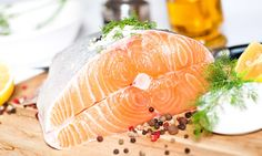 Salmon and spices