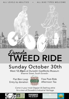 THE DUNEDIN TWEED RIDE!! Brought to you by Dunedin By Bike  https://www.facebook.com/events/309764212750204/