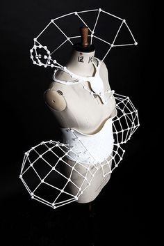 Project DNA is the three-dimensional accessories collection from London-based designer, Catherine Wales