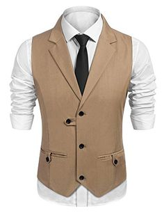Waistcoat For Suit, Mens Suit Vest, Vest Jacket, Vest Coat, Indian Men Fashion, Mens Fashion Suits, African Clothing For Men, Mens Clothing Styles, Gilet Costume