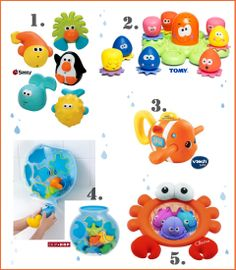 Best Bath Toys for Baby