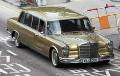 Mercedes-Benz 600 Pullman  Elvis had one too!  In Gold!