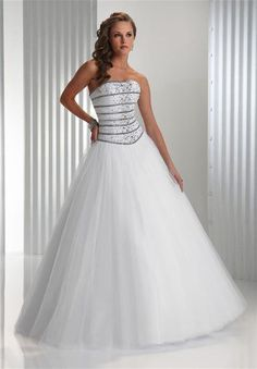 0e878eb3bc34 Unexpected Modest New Style White Strapless hot sale organza rhinestone  A-line floor length ball gown Prom Dress Modest
