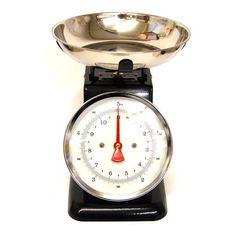 Vintage Kitchen Scales - Black