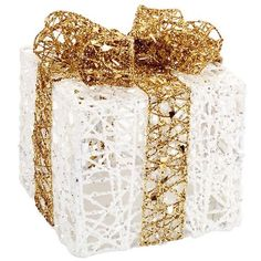 Melrose Gifts Light Up Gift Box (90 ILS) ❤ liked on Polyvore featuring home, home decor, holiday decorations, christmas, backgrounds, decor, holidays, filler, christmas home decor and christmas holiday decorations
