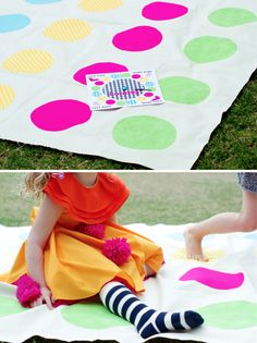 Lalaloopsy DIY Twister Party Game #lalaloopsy