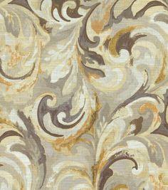 Swavelle Mill Creek Home Decor Print Fabric- Goldmine