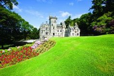 Amazing Venues - Kinnettles Castle, Scotland. Kinnettles Castle is like something straight from a fairytale, nestled in the rolling Angus countryside lies this hidden gem with grand turrets and monochrome interiors, Kinnettles Castle is a Wedding Venue so perfect that it is hard to believe it's not a figment of your imagination.
