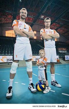 Michał Łasko i Michał Kubiak. c: JW - Jastrzębski Węgiel. :)