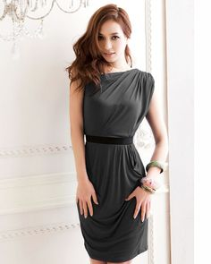Cool Knee length one piece dress for girls 2017-2018 Check more at http://24myfashion.com/2016/knee-length-one-piece-dress-for-girls-2016-2017/