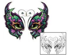 34643b10d Eyes Tattoos DBF-00353 Created by David Bollt Butterfly Eyes, Butterfly Tattoo  Designs,