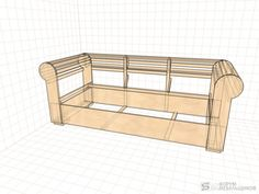 chesterfield sofa frame plans - Google Search | Sofas and ...